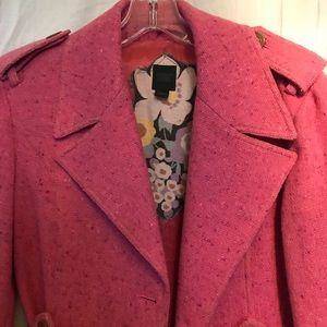 Express Design Studio Pink woven trench size M